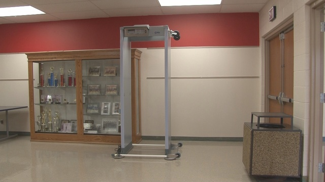 Union Local Schools Install Metal Detectors