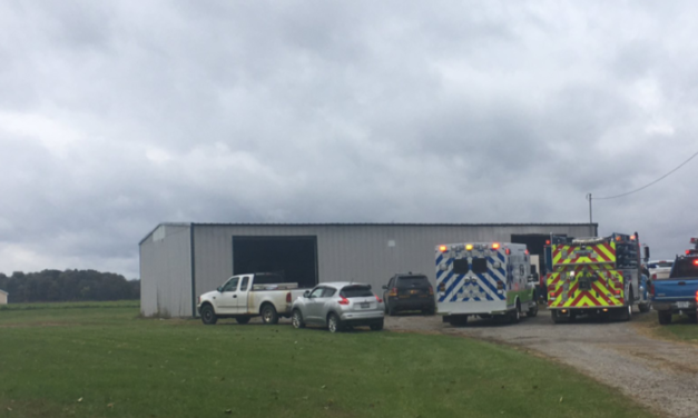 Explosion at Garage Sends One Man to the Hospital
