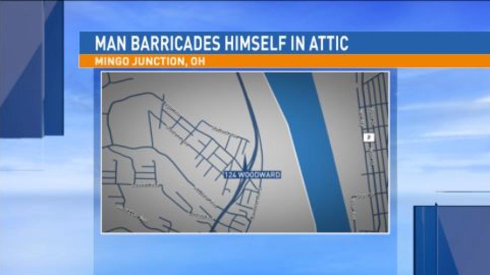 Man Barricades Himself Inside Mingo Junction Home