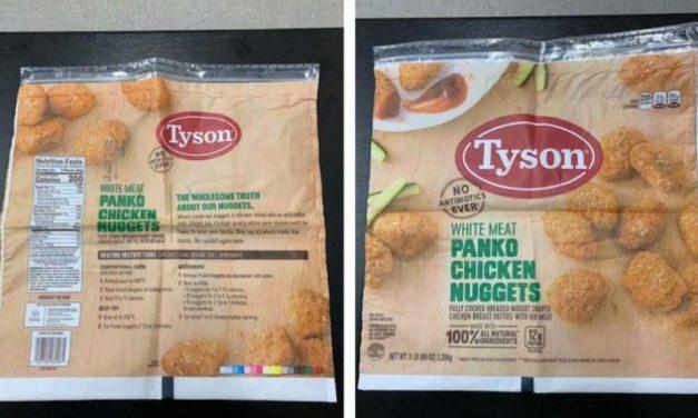Tyson Foods Recalls Chicken Nuggets Over Rubber Contamination