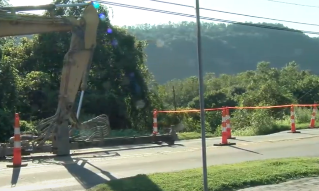 Sinkhole Forces Closure in Hancock Co.