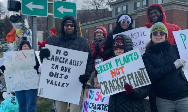Rally Reels in Dozens of Community Members Against Proposed Cracker Plant